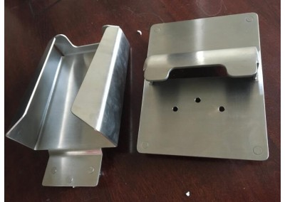 sheet metal prototype housing for infrared induction system